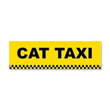 Unique Taxicab Car Magnet 10 x 3