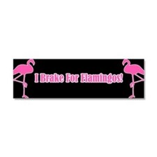 Cute Flamingo lover Car Magnet 10 x 3
