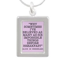 ALICE QUOTE Necklaces