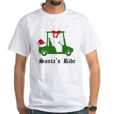 Santa's Golf Ride - T-Shirt