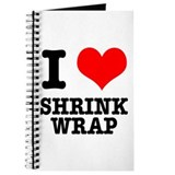 I Heart (Love) Shrink Wrap Journal