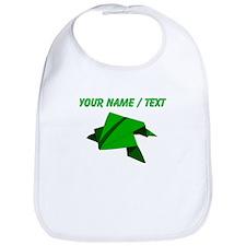 Custom Origami Frog Bib