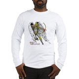 Archangel Uriel Long Sleeve T-Shirt