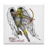 Archangel Uriel Tile Coaster