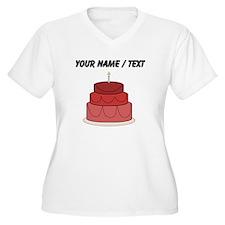 Custom Layered Cake Plus Size T-Shirt