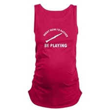 clarinet musical instrument designs Maternity Tank