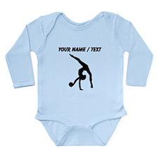 Custom Rhythmic Gymnastics Silhouette Body Suit