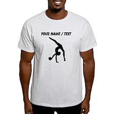 Custom Rhythmic Gymnastics Silhouette T-Shirt