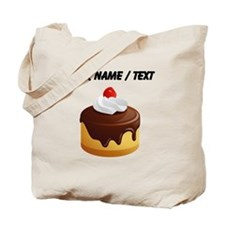 Custom Cake With Chocolate Frosting Tote Bag