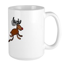 Santa Rabbit Christmast Mug