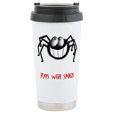 plays-with-spiders-2.tif Travel Mug