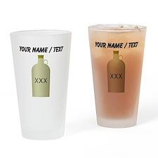 Custom Moonshine Jug Drinking Glass