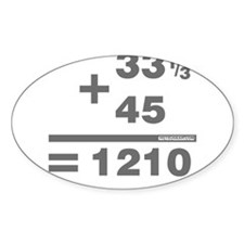 DJ Maths Decal