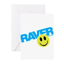 Raver Smilie Greeting Cards (Pk of 20)