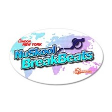 NuSkool BreakBeats Wall Decal