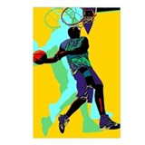 Basketball player Postcards (Package of 8)