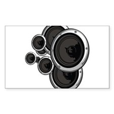 Speaker Wall Decal