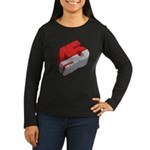 45 RPM Women's Long Sleeve Dark T-Shirt