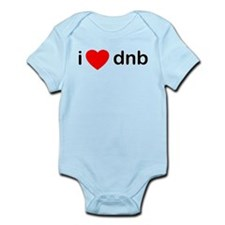 iheartdnb.png Infant Bodysuit