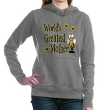 Beeworldsgreatestmother copy.png Hooded Sweatshirt