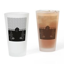 Elegant Love Drinking Glass