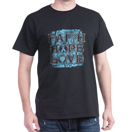 Thyroid Disease Faith Hope Love Dark T-Shirt