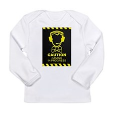 Gaming In Progress Long Sleeve Infant T-Shirt