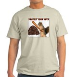 Protect your Nuts! - Ash Grey T-Shirt