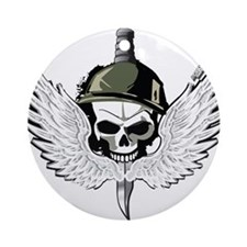 Cute Delta force Ornament (Round)