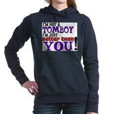 TOMBOY.png Hooded Sweatshirt