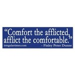 Comfort the afflicted, Afflict the Comfy