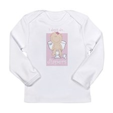 I DON'T DO DIAPERS Long Sleeve Infant T-Shirt