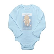 I DON'T DO DIAPERS Long Sleeve Infant Bodysuit