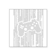 "Dot Matrix Pad Square Sticker 3"" x 3"""