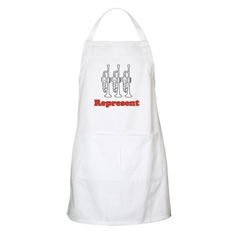 Trumpet &quot;Represent&quot; BBQ Apron