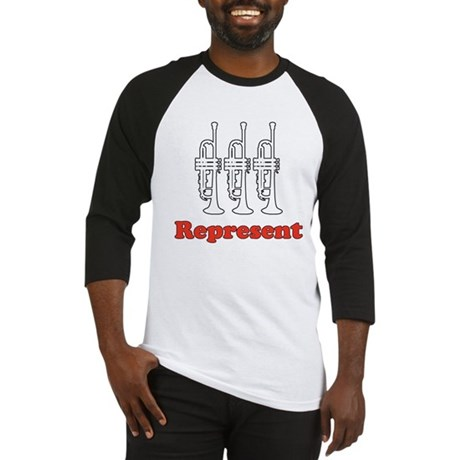 Trumpet &quot;Represent&quot; Baseball Jersey