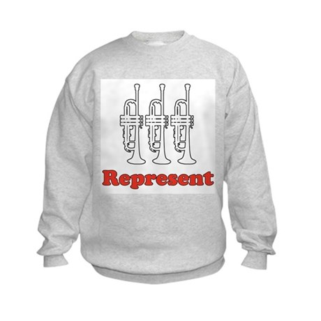 Trumpet &quot;Represent&quot; Kids Sweatshirt