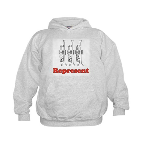 Trumpet &quot;Represent&quot; Kids Hoodie