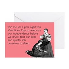 Sob Ourselves To Sleep Greeting Card