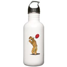Wheaten with Balloon Sports Water Bottle