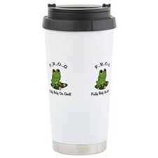 Cute Frog Travel Mug