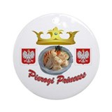 Pierogi Princess Ornament (Round)