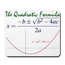 Quadratic Formula Mousepad