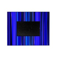 Blue Stripes Picture Frame