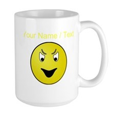 Custom Evil Smiley Face Mugs