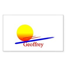 Geoffrey Rectangle Decal