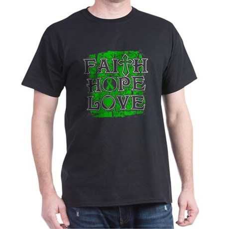TBI Faith Hope Love Dark T-Shirt