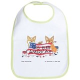Cute Corgi Bib