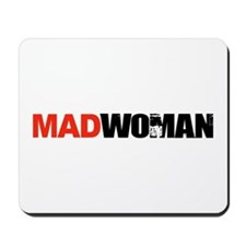 Mad Woman Mousepad