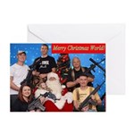 American Christmas Greeting Cards